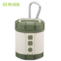 See Me Here Bv100 Outdoor Wireless Bluetooth Speaker Portable Small Audio Subwoofer