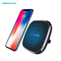 10W Qi Car Wireless Charger Fast Nillkin 2 In 1 Magnetic Vehicle Mount Phone Holder Pad