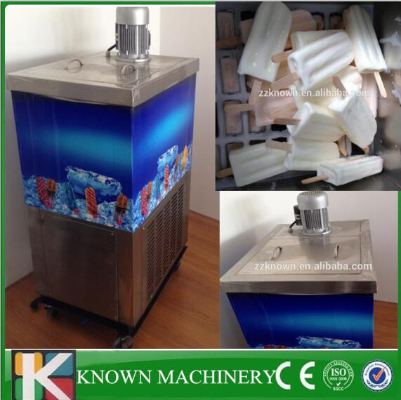 Easy To Operate Stainless Steel Single Mold Ice Cream Yogurt Popsicle Machine