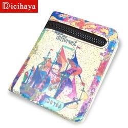 HICIHAYA из натуральной кожи кошельки Для женщин кожаный бумажник на молнии малый кожаный клип для денег клатч бумажник для монет кошелек 702A04