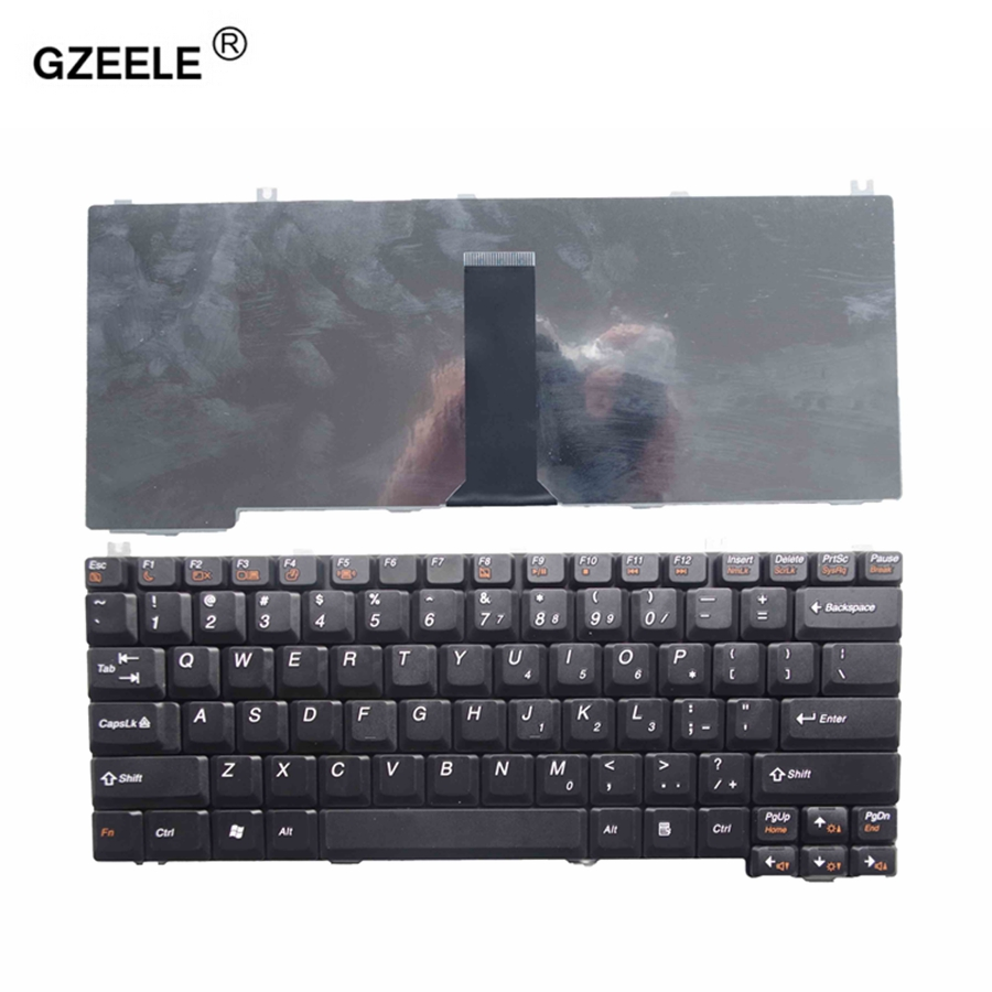 GZEELE US Laptop Keyboard FOR LENOVO 3000C N200 3000G G450L N440 N440G N440A 7757  E23 E42T 15303 L3000 C640 N100 C200 C100