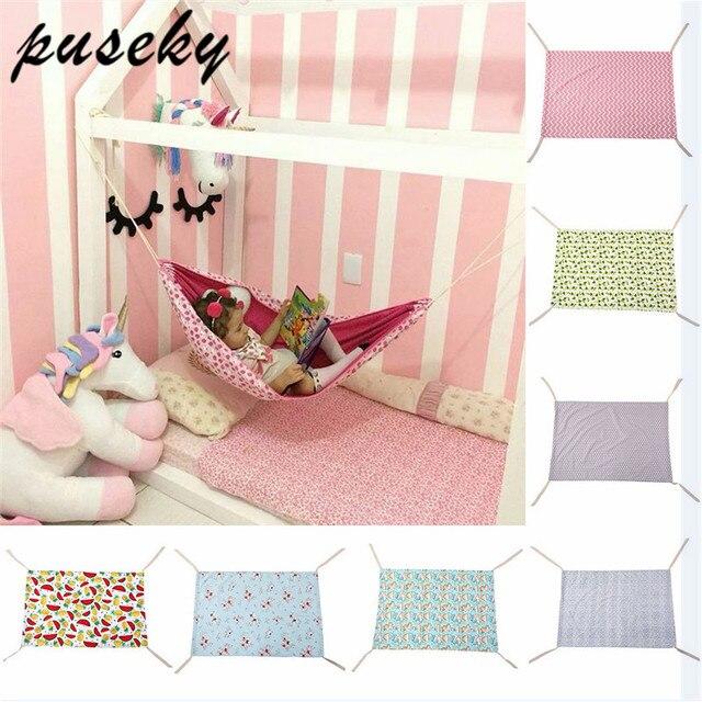 Puseky 2018 Segurança Hammock Do Balanço Do Bebê Cama Infantil Cama Dormindo Destacável Portátil Dobrável Bebê Bouncer Berço Infantil para Recém-nascidos