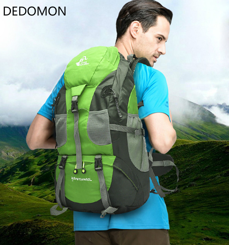 FREEKNIGHT 50L Outdoor Backpack Camping Bag WaterProof Mountaineering Hiking Backpacks Molle Sport Bag Climbing Rucksack huwaijianfeng 50l outdoor sport traveling climbing backpack multifunctional hiking bag