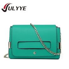 Heißer Vintage Handtaschen Damenmode Designer Schulter Messenger Bags Hochwertigen Kette 4 Farben Damen Pu-leder Handtaschen