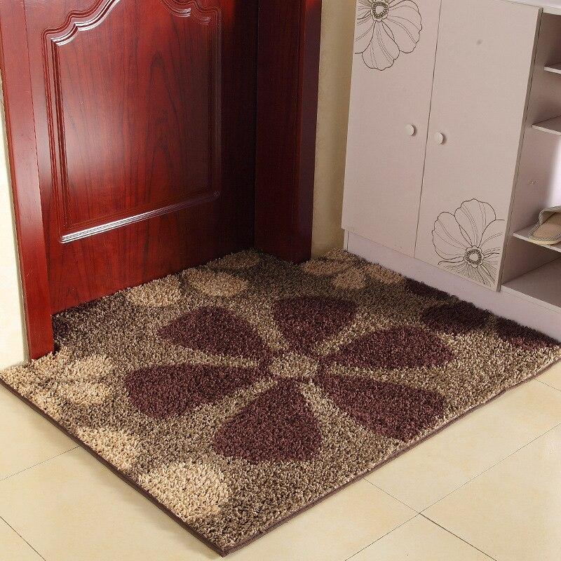 90*120 cm, 90*140 cm anti-dérapant Absorption d'eau grand tapis tapis de cuisine tapis de porte tapis de cuisine tapis de toilette Tapete tapis porche paillasson