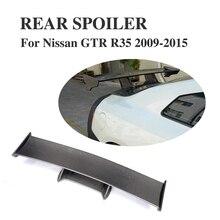 Carbon Fiber Rear Trunk Boot Wing Spoiler Carbon Fiber for Nissan R35 GT-R GTR 2009 2010 2011 2012 2013 2014 2015