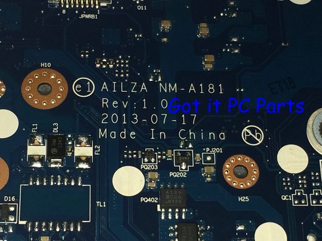 New !!!  AILZA  NM-A181 REV : 1.0  for Lenovo Z510 Laptop Motherboard notebook pc mainboard