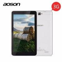 3G!!! S7 7 pulgadas 3G Llamada de Teléfono de Aoson Tablet Pc 1 GB 8 GB HD IPS Android 5.1 Dual SIM de Doble Cámara Bluetooth OTG WIFI Tablets PC