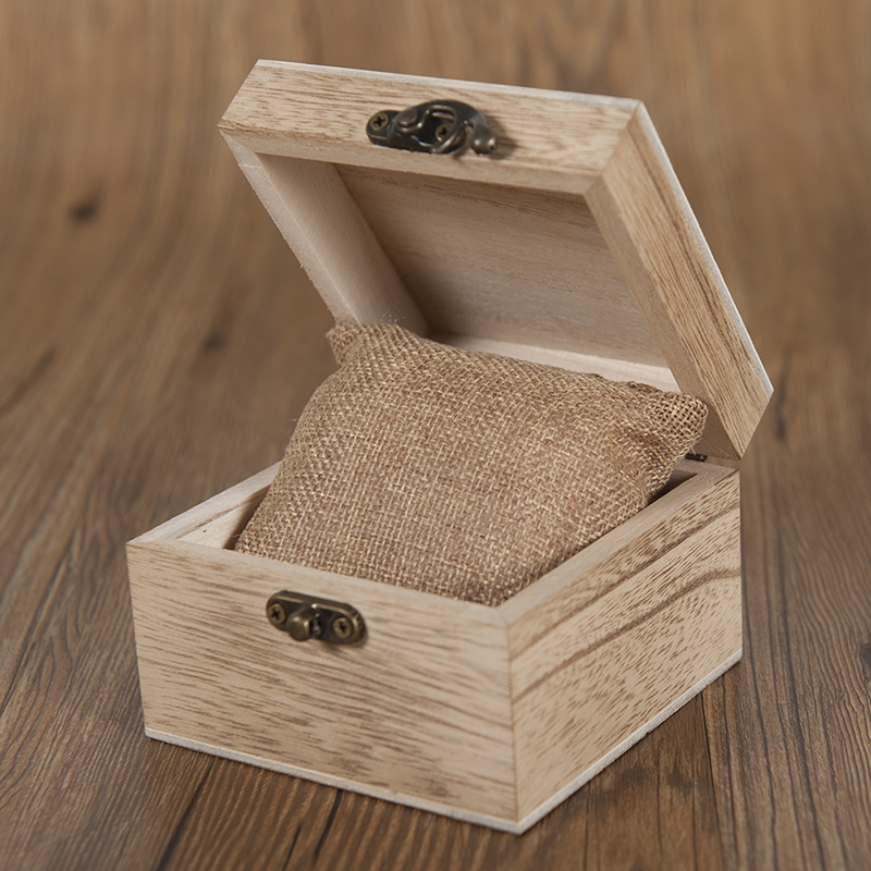 Natural Wooden Elk Dial Watch in Wood Gift Box 5