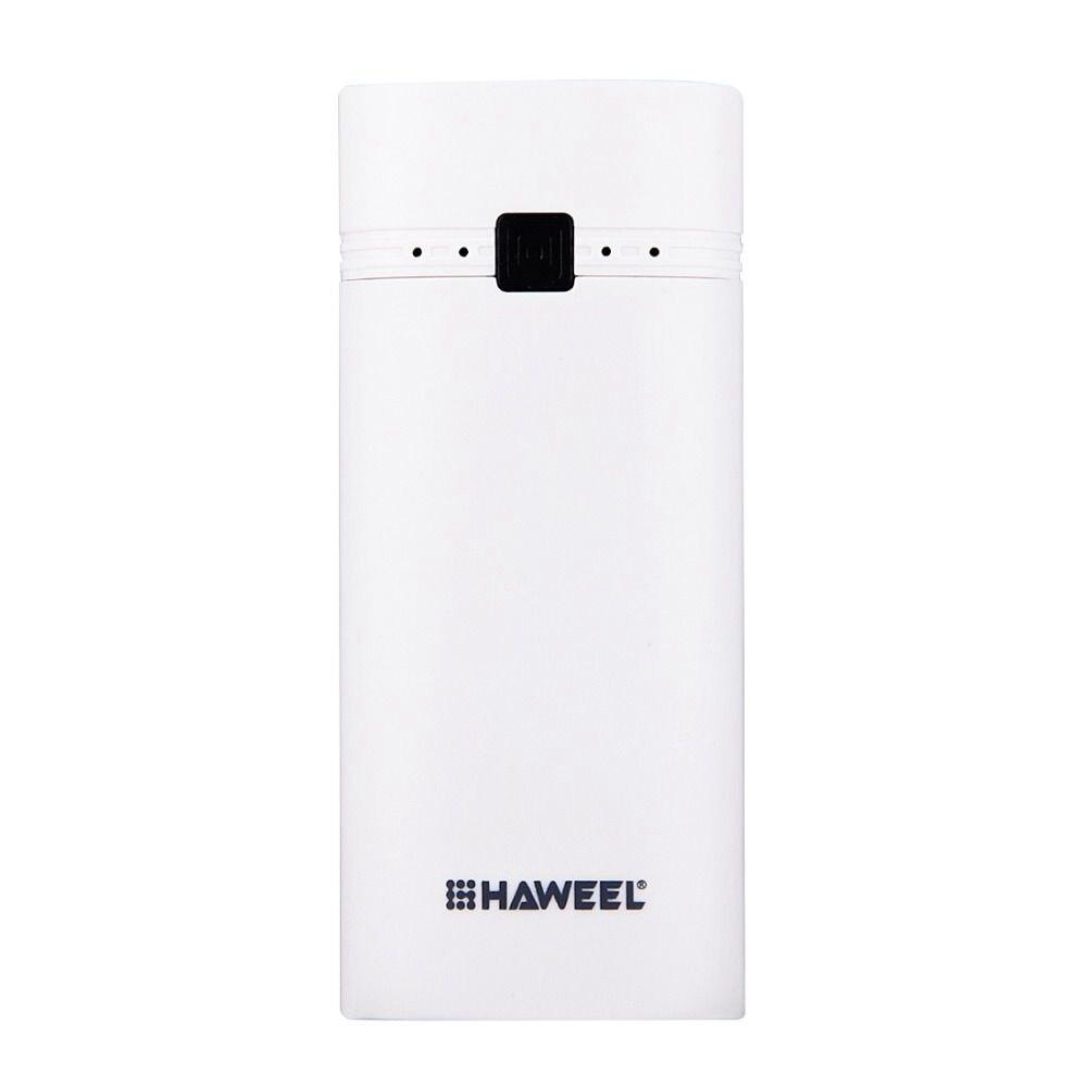 Haweel Fai Da Te 2x18650 Batteria Portatile 5600 Mah Banca Di Potere Box Shell Con Uscita Usb E Indicatore Per Il Iphone Per Samsung Senza Ba