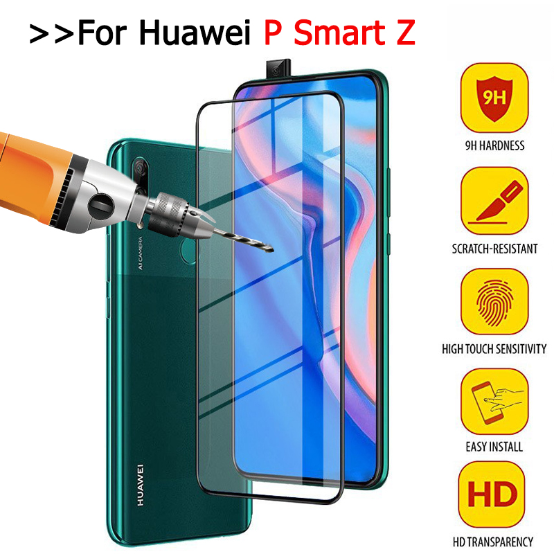 For Huawei P Smart Z P SmartZ Psmart Z Glass Screen Protector 9H Protective Film On The For Hauwei Y9 Prime 2019 Y 9 LX1 STK-L21
