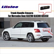 Car Camera For Mercedes Benz GLK280 GLK300 GLK350 / Rear View Camera / HD CCD RCA NTST PAL / License Plate Lamp OEM for mercedes benz glk glk300 glk350 x204 ccd car backup parking camera intelligent tracks dynamic guidance rear view camera