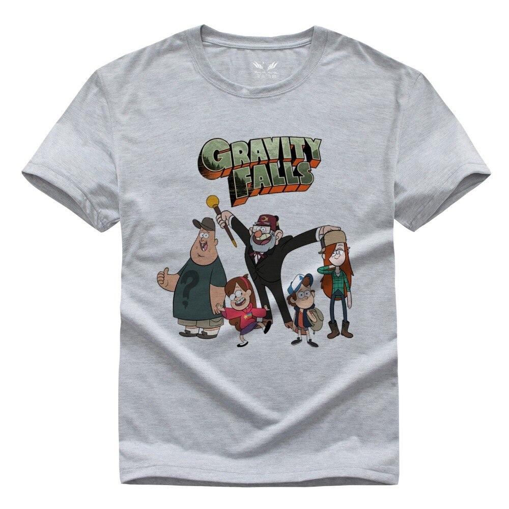 Gravity Falls Mabel Dipper Wendy Soos Print Original Design Fashion Casual Cotton T shirt TEE Free Shipping
