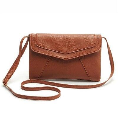 JIARUO PU leather Women Envelope Messenger bags Slim Crossbody Shoulder bags Handbag Small Cross body bags Satchel Ladies Purses