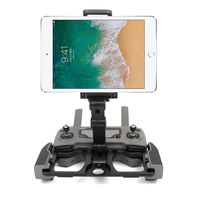 DJI Mavic 2 Pro/Zoom Air Spark Remote Control CrystalSky Aluminum Alloy Bracket Pad Mobile Phone Holder Flat Tablet Stand
