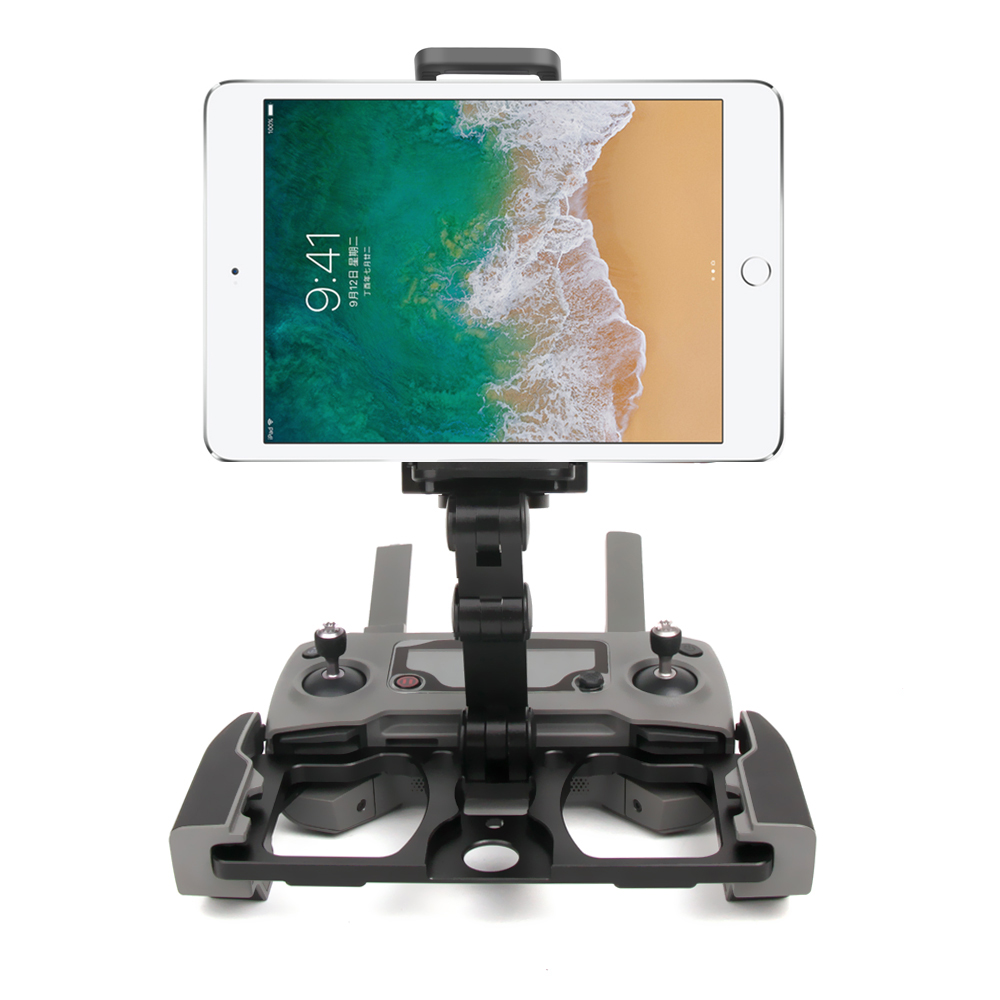 DJI Mavic 2 Pro/Zoom Air Spark Remote Control CrystalSky Aluminum Alloy Bracket Pad Mobile Phone Holder Flat Tablet Stand цена