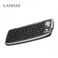 Landas 2.4G Wireless Trackball Keyboard with Fly Air Mouse For Android TV BOX Multifunctional Keyboard  Scroll Wheel for PC HTPC