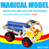 Free Shipping Metal Building Blocks 168 Assembly Educational Metal Assembled Car Series 816 15 Engineering B