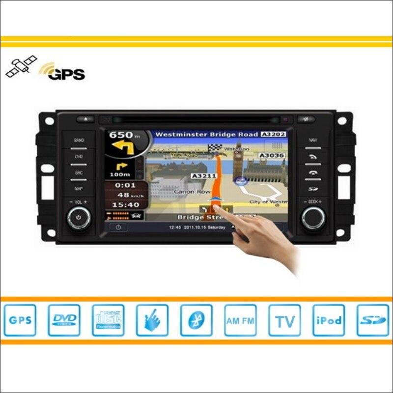 Radio de coche Para Dodge Ram 2009 ~ 2010-GPS Del Coche Del Mapa de Navegación N