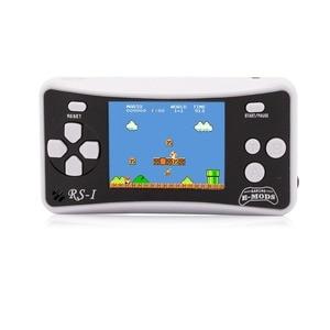 """Image 4 - 2.5 """"어린이를위한 8 비트 휴대용 비디오 휴대용 게임 콘솔 레트로 162 클래식 게임 플레이어 80 년대 아케이드 비디오 게임 시스템"""