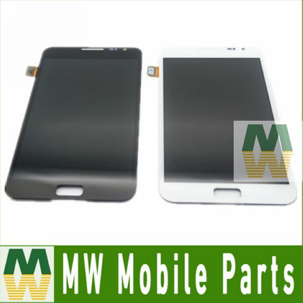 1 PC / Lot For Samsung Galaxy Note i9220 N7000 LCD Display +Touch Screen Digitier Black White Color