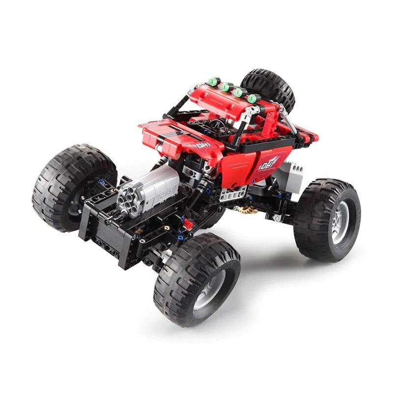 Bloques de construcción de coches Technic CADA RC de carreras fuera de carretera 2,4 Ghz Motor potencia Fit Legoing vehículos ladrillos juguetes regalos para niños para niños-in Bloques from Juguetes y pasatiempos on AliExpress - 11.11_Double 11_Singles' Day 1