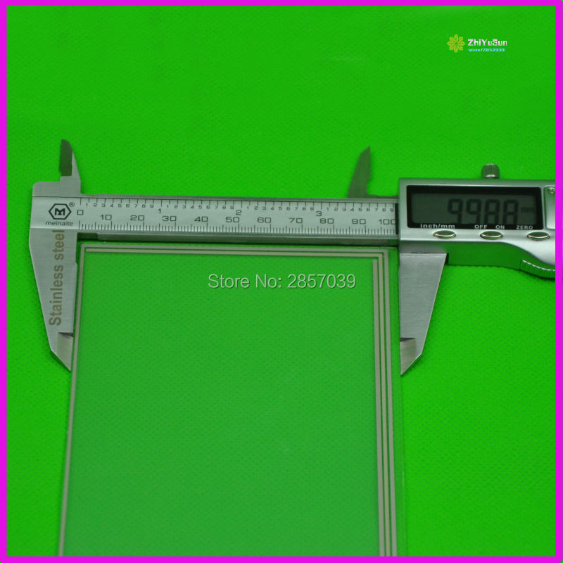 7 ιντσών 4 Wire καθολική οθόνη LCD οθόνη αφής ψηφιοποίησης αυτοκινήτου GPS-165x100mm XWT567