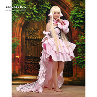 2016 New Fashion Lovely Chii Chic Chobits Cosplay Costume For Halloween Party Musical