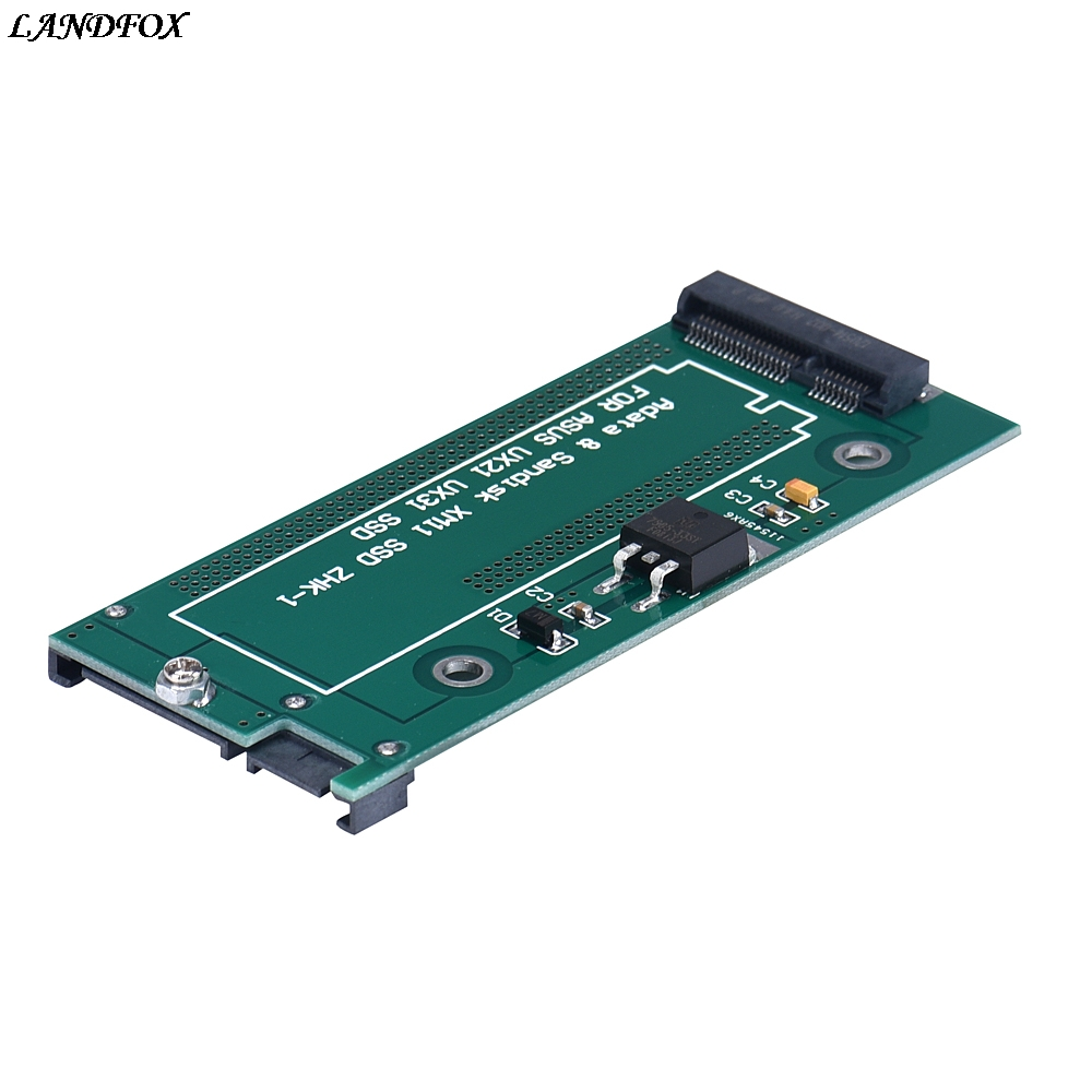 MSATA To SATA For Asus UX31 UX21 XM11 SSD Adapter smoby кастрюля tefal с 3 лет page 6