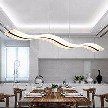Luces pendientes modernas cocina sala dinging room lámparas ac90-260v led luminarias de lámpara colgante regulable con control