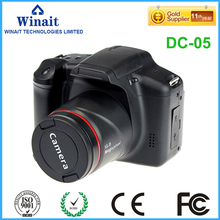 Freeshipping Half DSLR Digital camera DC-05 12MP Constructed-in Microphone Self-time Excessive Value Efficiency Digital Digital camera