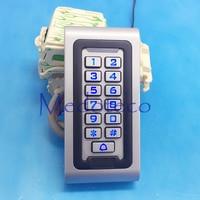 12V 24V IP68 Waterproof 125khz RFID/EM Keypad Proximity Door Access Control System Metal Access Control Outer Door Opener