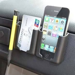 vehicle  Car Mobile phone holder The navigation frame There is adhesive on the back  Can put a mobile phone  free shipping