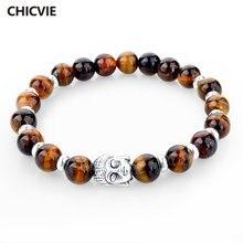 Подвески chicvie браслеты с камнями бусинами для женщин и мужчин