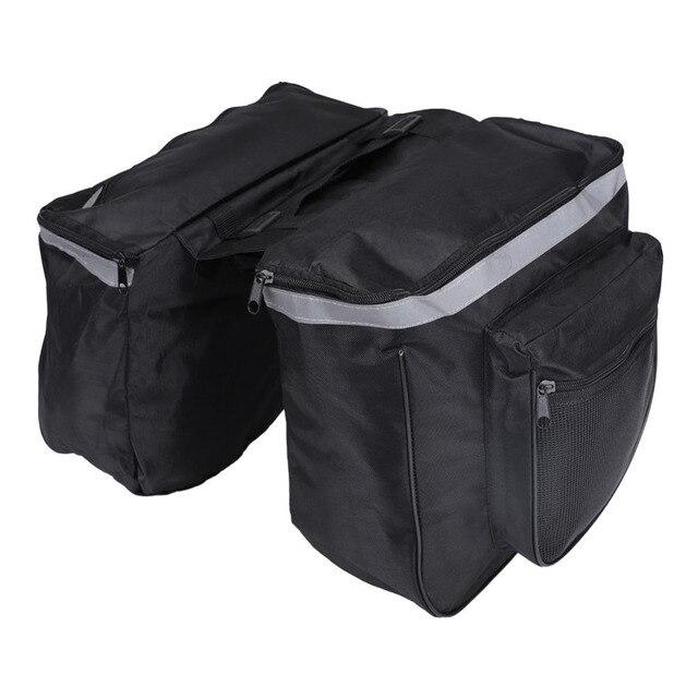 ES 25L сумки для велосипеда водонепроницаемые горная дорога крепление для велосипеда, байка заднего сиденья Хвост Перевозчик багажник Двойная Сумка для велосипеда сумки