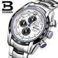 Switzerland watches men luxury brand Wristwatches BINGER Quartz watch Chronograph Diver glowwatch B1163-3