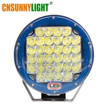 Здесь можно купить  CNSUNNYLIGHT Guaranteed LED Work Light 9 inch 96W Spot Beam For 4x4 Offroad Boat Auto Wrangler Jk Truck Led Driving Lamp 12V 24V