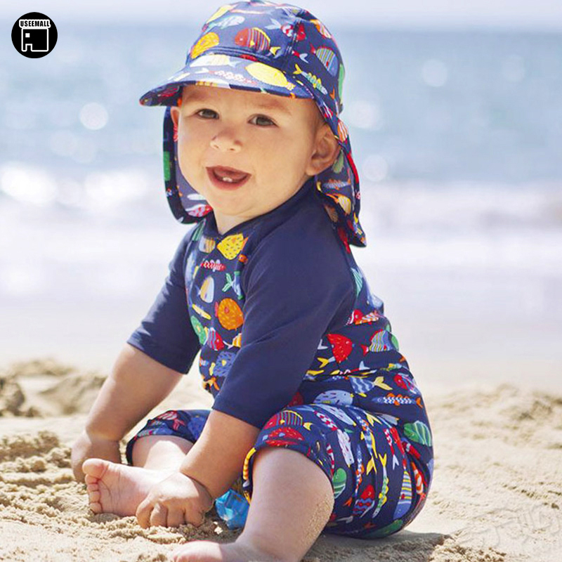 7e253b744b4 ... Swimsuit Children · Useemall 2018 Cute Baby Boy Swimwear Piece Kids