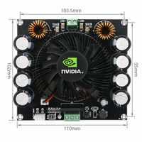 XH-M257 TDA8954TH 420 W Ad Alta Potenza in Classe AD AMP Amplificador Dual AC 24 V Mono Digital Audio Amplificatore Consiglio B3-004