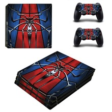 Spiderman and Venom PS4 Pro Skin Sticker Vinyl Decal Sticker