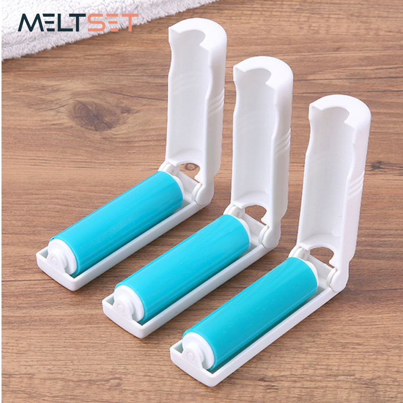 Lint Rollers & Brushes Household Cleaning Tools Realistic 1pc Portable Washable Anti-static Clothes Dust Removal Sticky Hair Tumble Lint Rollers For Wool Clothing Bedding With Cover Quality First