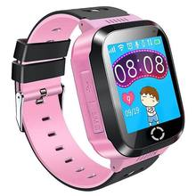 Kids GPS Smartwatch, 1.44 inch Smart Watch Bracelet For Children Christmas Gifts with Touch Screen Camera Pedometer Anti-lost(China)
