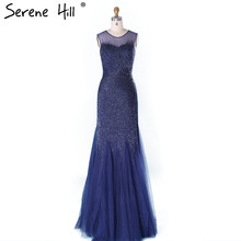 SERENE HILL Luxury Mermaid Evening Dresses 2019 Prom Dress
