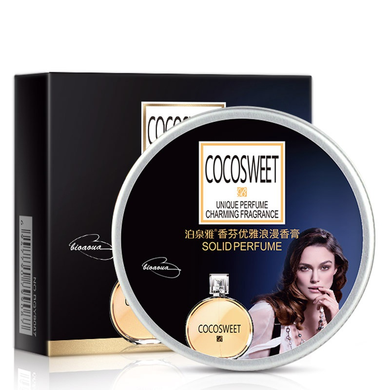 Fragrances & Deodorants Responsible 1pc 15g Solid Perfume For Men Women Portable Round Box Long-lasting Solid Perfume Balm Body Fragrance Skin Care New
