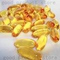 O envio gratuito de 6 garrafas de óleo de peixe omega3 regular a gordura do sangue 1000 mg * 100 peças por garrafa