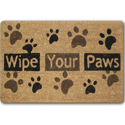 New Welcome Doormats Rubber Door Mat 3d Footprint Letter Carpet For