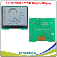 5.7 320X240 320240 Graphic LCD Module Display Panel Screen LCM with ST75320 Controller Gray LCD, Support Serial SPI