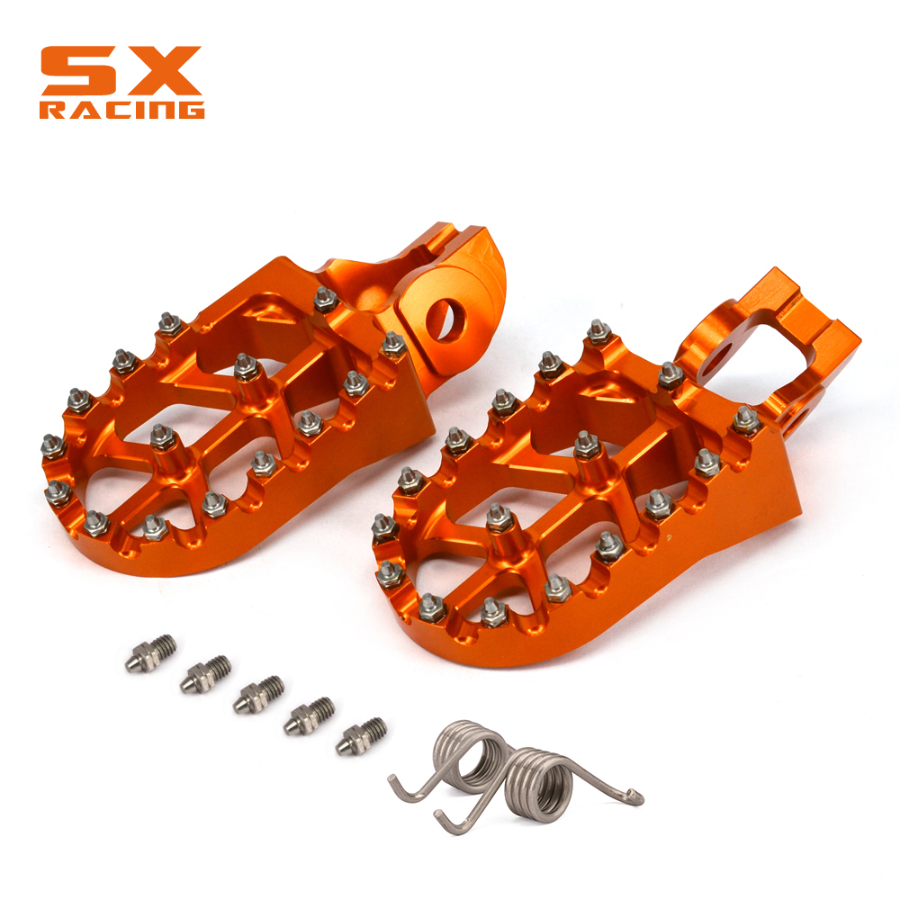 Foot Pegs Footpeg Pedals Rest For KTM SX SXF EXC EXC XC XCF XCW 85 125