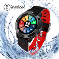 Samload Sport smart watch waterproof wristband Alarm Clock Stop watch Fitness Tracker running Walking For IOS Android Phone Sony