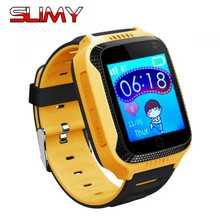 Inteligente Relógio Das Crianças Das Crianças do Relógio De Pulso Toque Q528 2G GSM GPRS Localizador GPS Tracker Criança Guarda de alarme Anti-Perdida Smartwatch para IOS Android